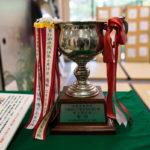 La coupe du tournoi de Karuta