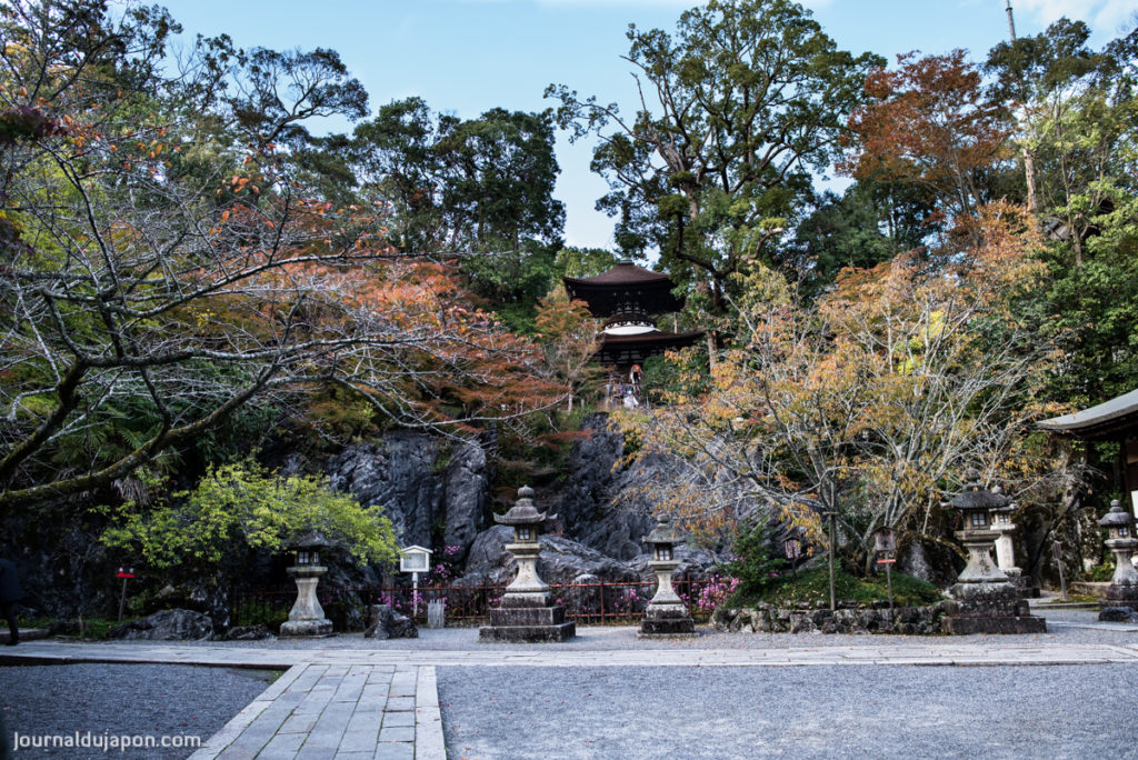 Le Ishiyama Dera, ou Temple des Fleurs.