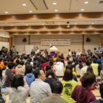 Hikaru-kun vient faire un discours pour l'ouverture de la compétition internationale de Karuta