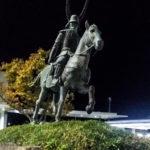 Statue de Ii Naotaka à Hikone.