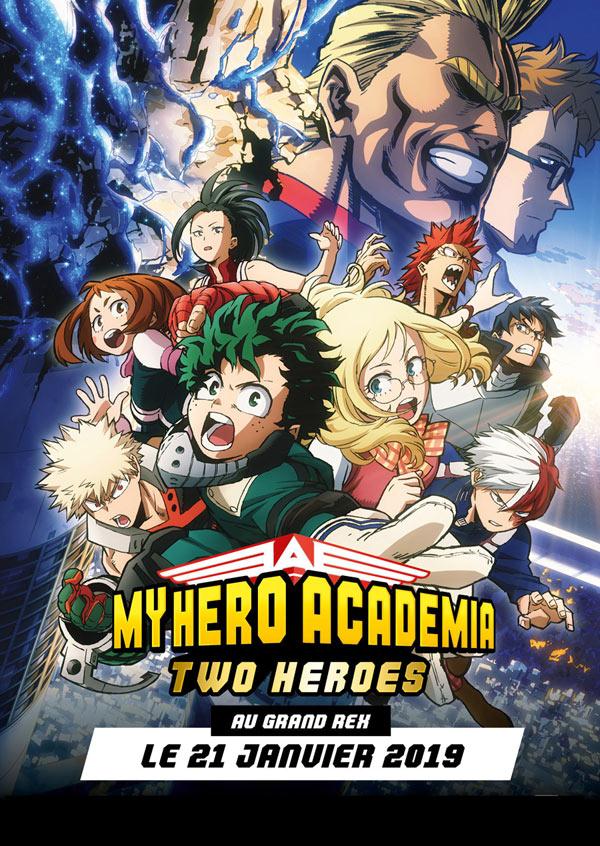 My Hero academia: Two Heroes GR