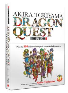 Couverture de l'artbook Dragon Quest Illustrations