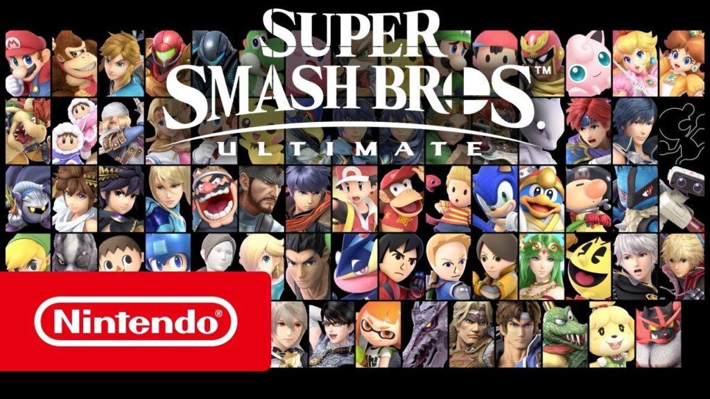 Super Smash Bros Ultimate - Nintendo®2018