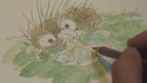 Image tirée du documentaire Never Ending Man Hayao Miyazaki