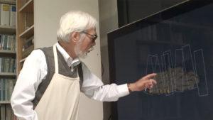 Image tirée du documentaire Never Ending Man sur Hayao Miyazaki