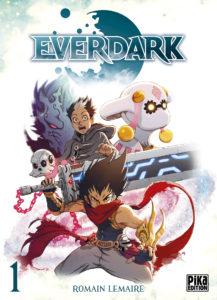 Couverture du tome 1 de Everdark chez Pika