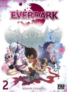 Couverture du tome 2 de Everdark chez Pika