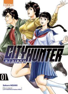 Couverture du tome 1 de City Hunter - Rebirth chez Ki-oon