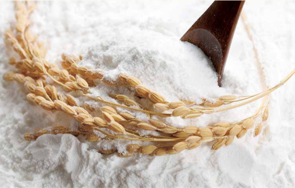 Farine de riz japonaise