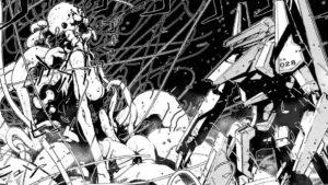 """Knights of Sidonia : combat de mecha, les """"Sentinelles""""contre les redoutables Gaunas"""