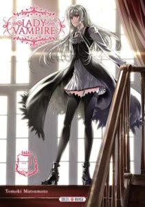 Couverture du tome 1 de Lady Vampire chez Soleil