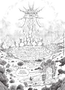 Page tiré du tome 1 de Everdark chez Pika