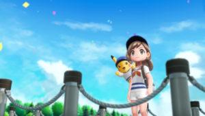 Contemplation dans le jeu Pokémon Let's GO