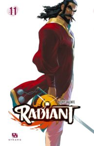 Couverture du tome 1 de Radiant chez Ankama