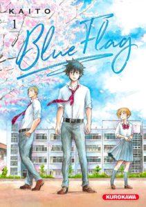 Couverture du tome 1 de Blue Flag chez Kurokawa
