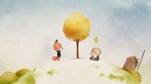 L'amitié d'un cochon et d'un renard