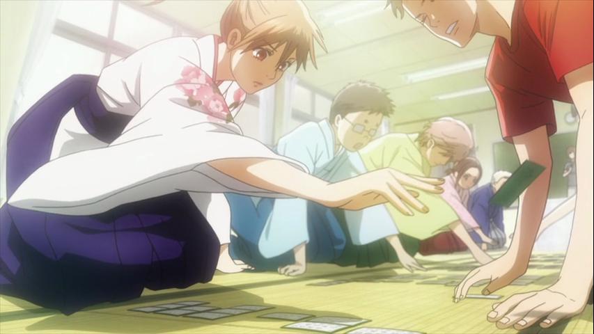 Retrouver les positions des joueurs de karuta