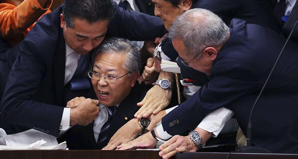 Photo illustrant l'article paru sur lesechos.fr / Crédit photo Ichiro Ohara AP Sipa