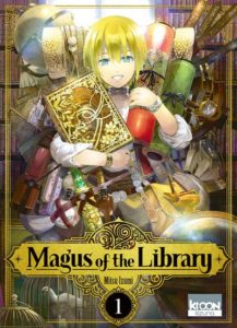 Couverture du tome de Magus of the library chez Ki-oon