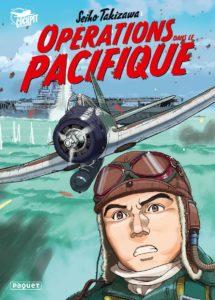 Couverture de Opérations dans le Pacifique aux éditions Paquet