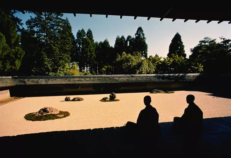 Jardin zen du Ryōan-ji