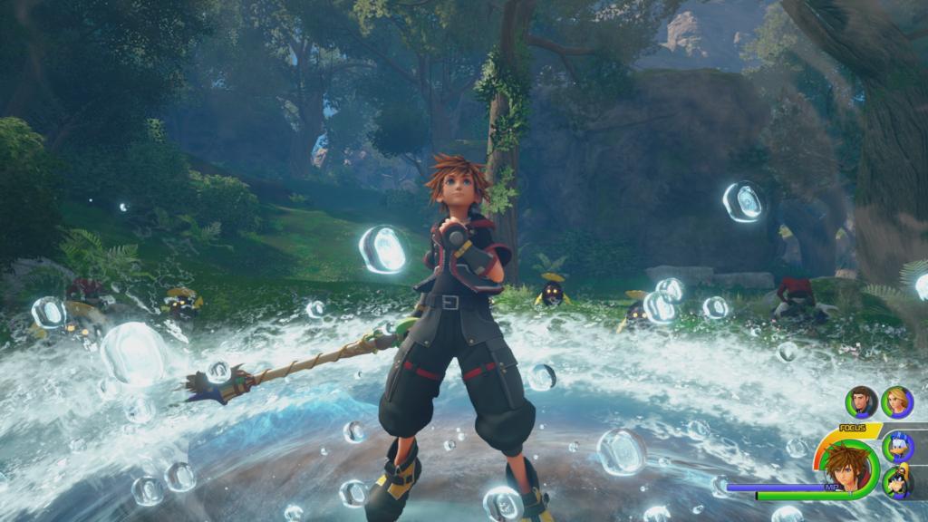 Kingdom Hearts 3 : Les combats sont dynamiques