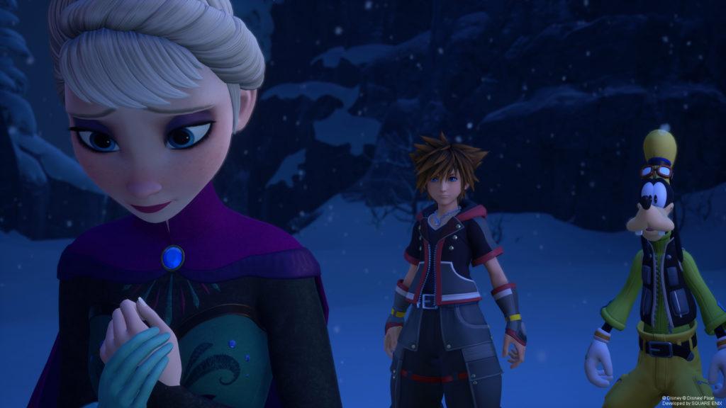 Kingdom Hearts 3 : La reine des neiges