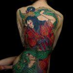 Horitaru, tatoueur coréen - Crédits Horitaru