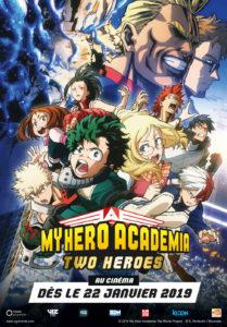 Affiche du film My Hero Academia - Two Heroes
