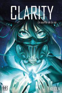 Couverture du tome 1 de Clarity chez H2T