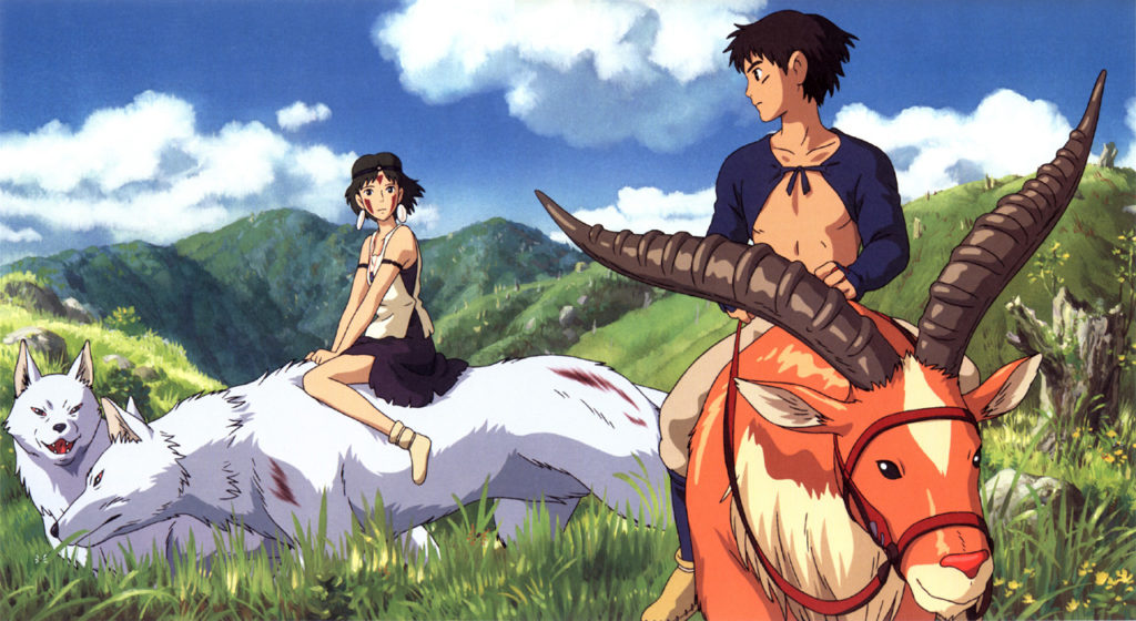 Princesse Mononoké © Studio Ghibli - Tous droits réservés