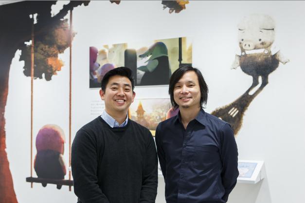 """Robert Kondo (à gauche) et Daisuke """"Dice"""" Tsutsumi (à droite) ©Tonko House"""