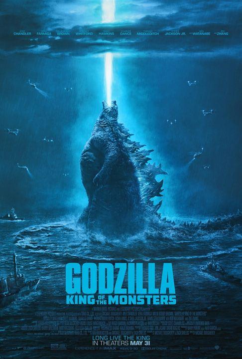 Godzilla Roi des Monstres affiche