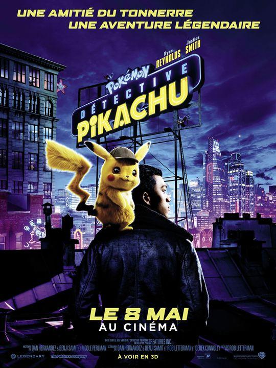 Pokémon Détective Pikachu affiche