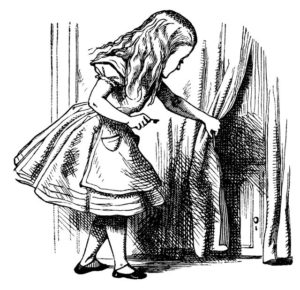 Illustration originale d'Alice au pays des Merveilles, par John TENNIEL © Getty / retroimages