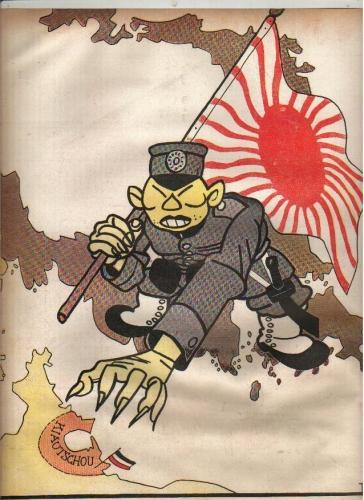 Affiche de propagande allemande anti-japonaise
