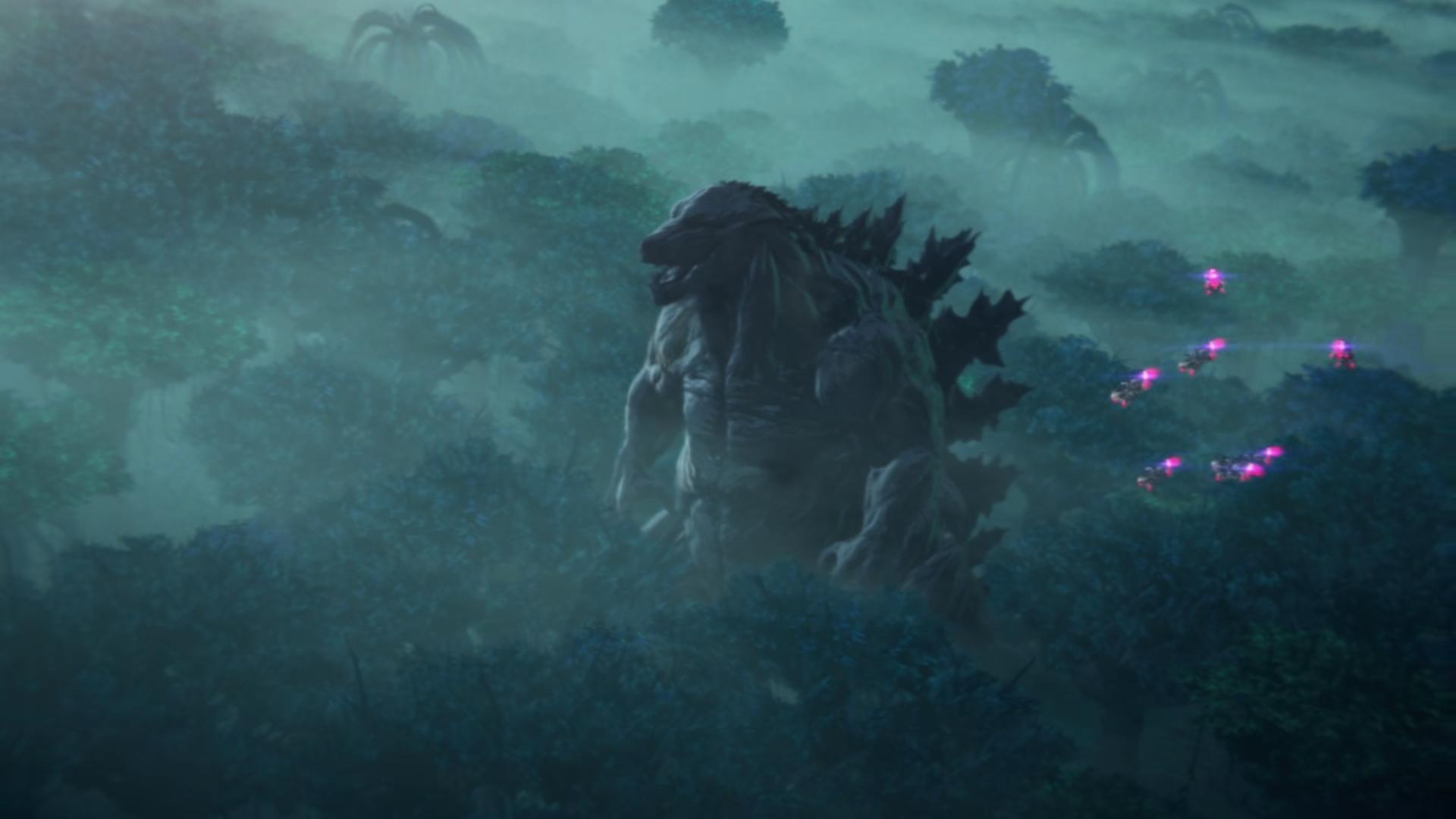 Godzilla, le nouveau roi du monde où la nature a repris ses droits