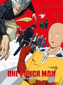 One Punch Man saison 2 poster Saitama