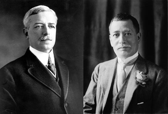 Robert Lansing et Ishii Kikujirō