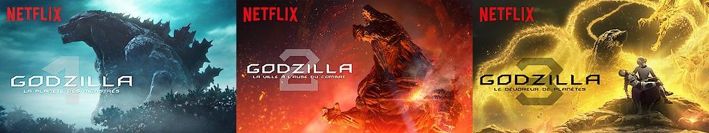 Que vaut la trilogie Godzilla sur Netflix ? - Animation