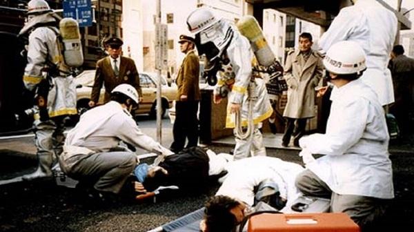 Tokyo attaque au gas sarin