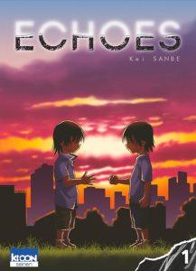 Couverture du tome 1 de Echoes chez Ki-oon