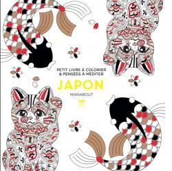 Japon, petit livre à colorier et pensées à méditer : couverture