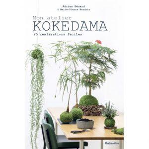 Mon atelier kokedama d'Adrien Bénard : couverture