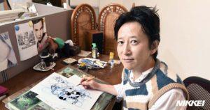 desk desktop bureau travail mangaka Araki Hirohiko JoJo