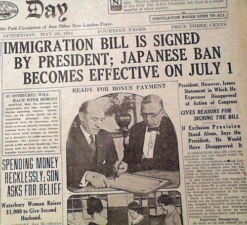 Federal Immigration Act de 1924