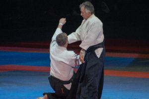 Gérard Blaise au festival d'arts martiaux