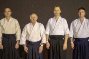 Équipe d'aïkido présente au Festival d'arts martiaux