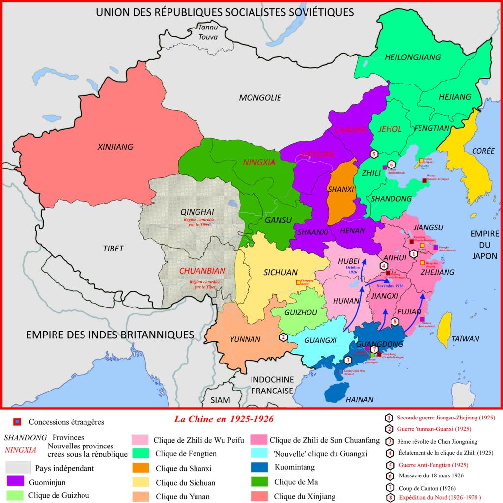 La Chine en 1925-1926