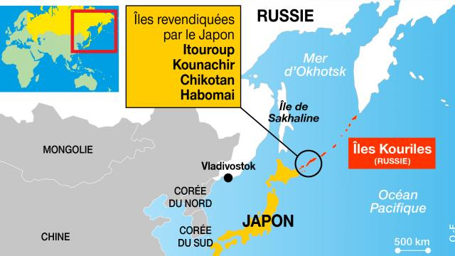 """Les Kouriles et Sakhaline, les """"îles de la discorde"""""""